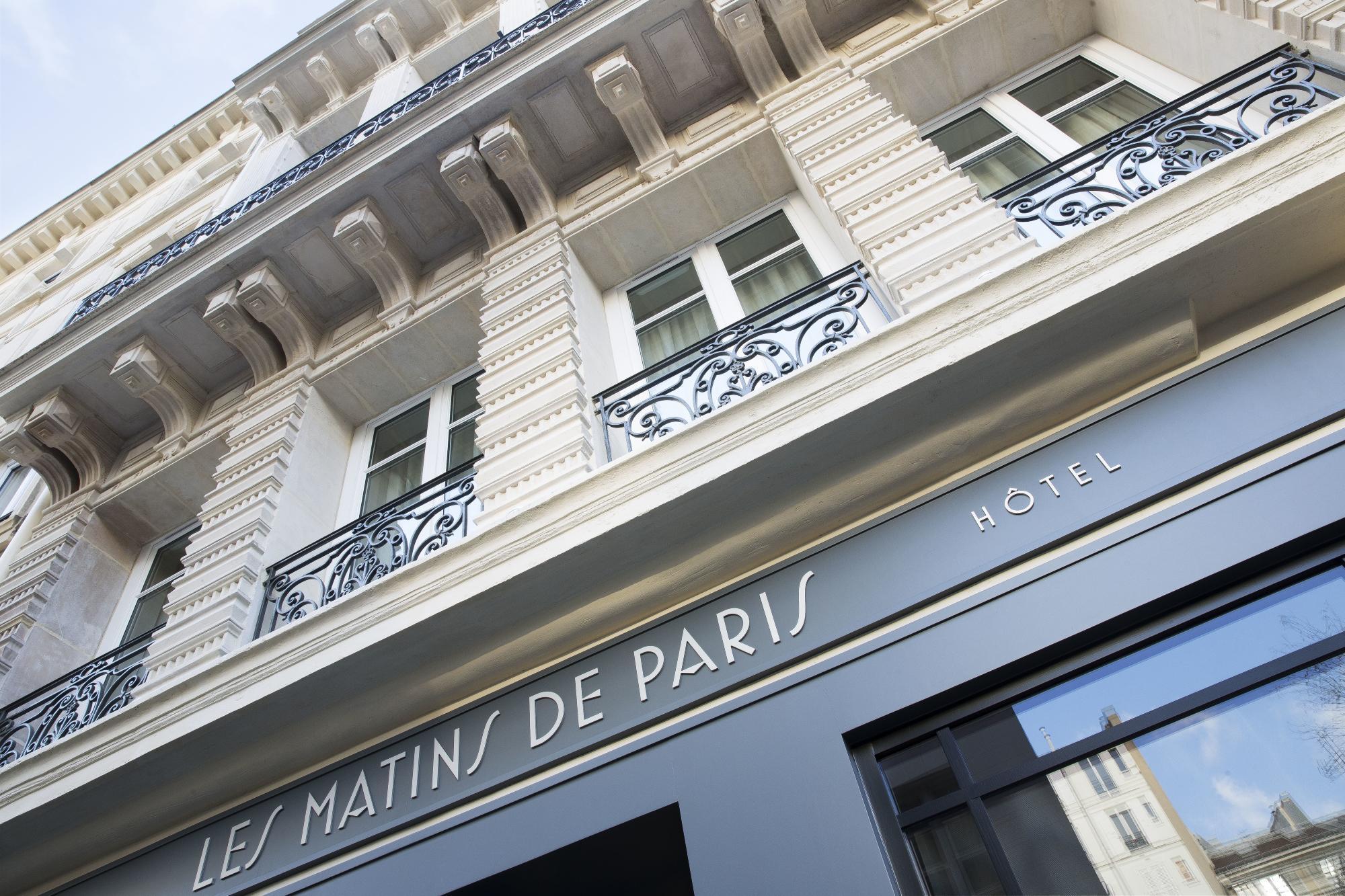 Hotel Les Matins de Paris Facade