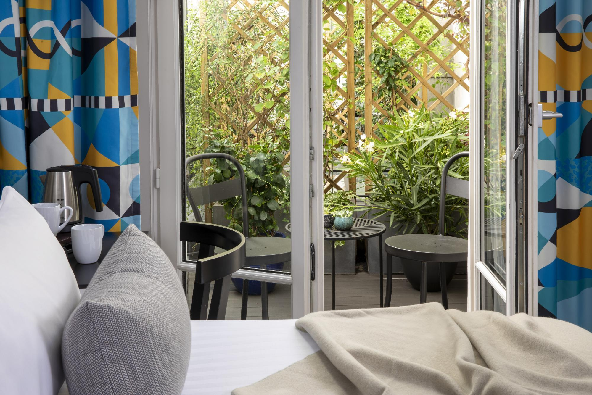 Hôtel Les Matins de Paris Chambre Supérieure Terrasse