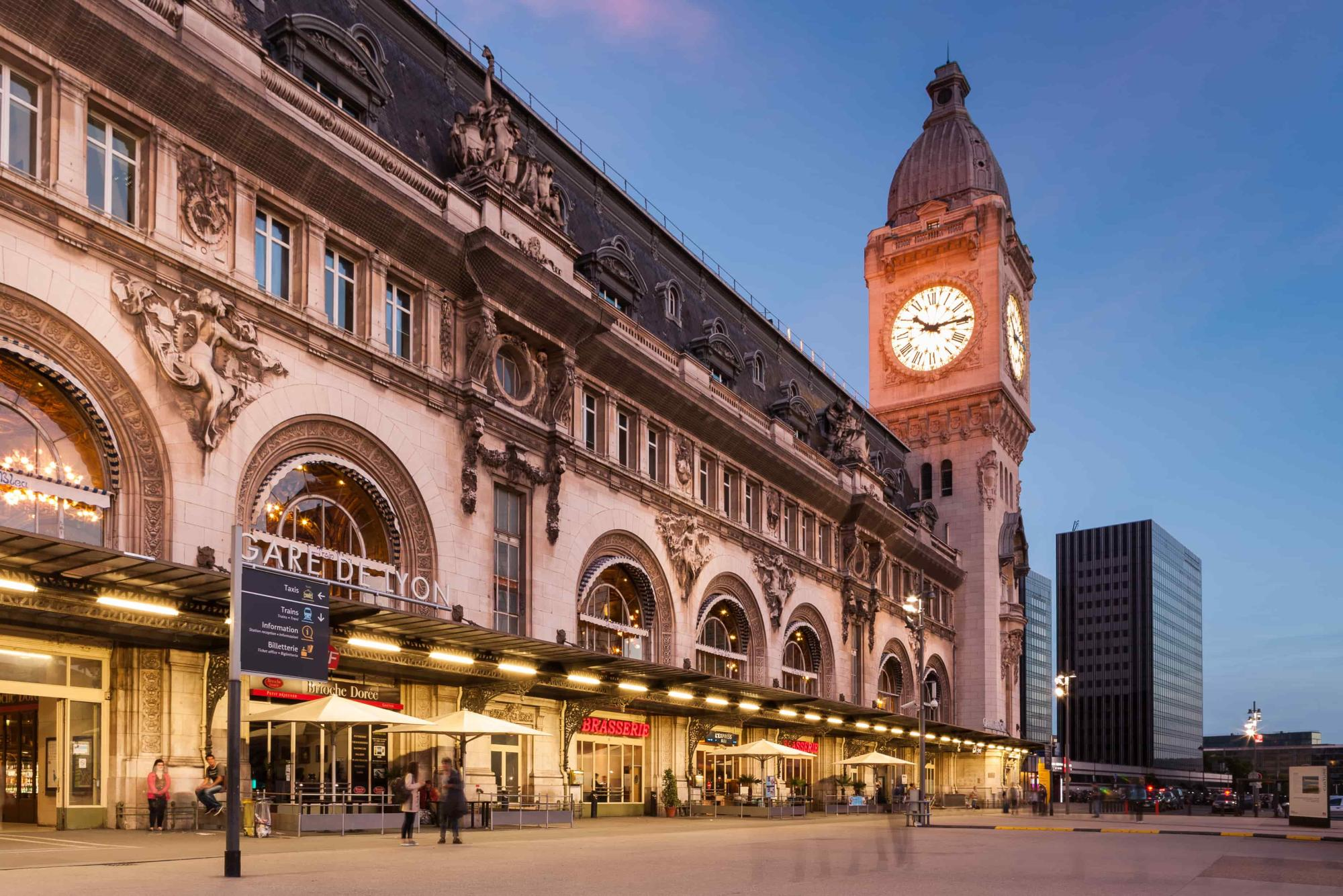 Gare de Lyon - 9 hotel Bastille-Lyon Paris 12