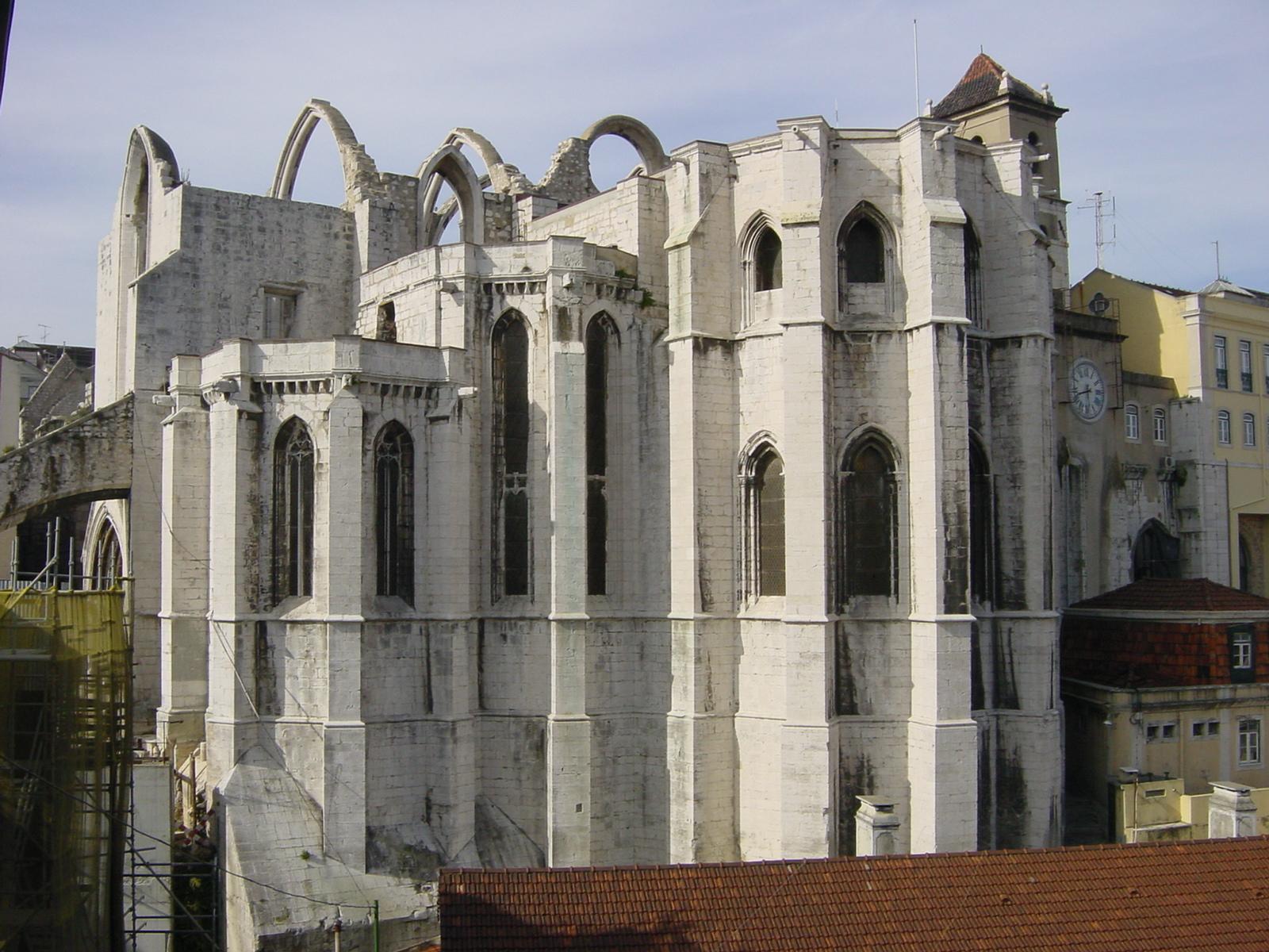 Eglise Musée Carmo Lisbonne 9 hotel mercy