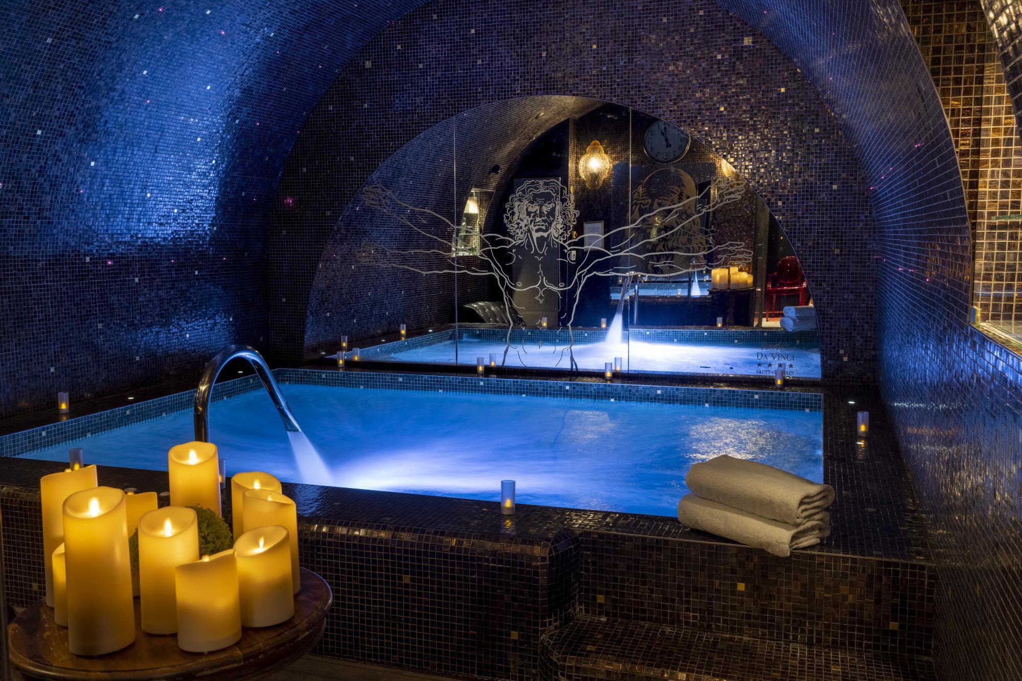 Hotel Da Vinci Spa Pool