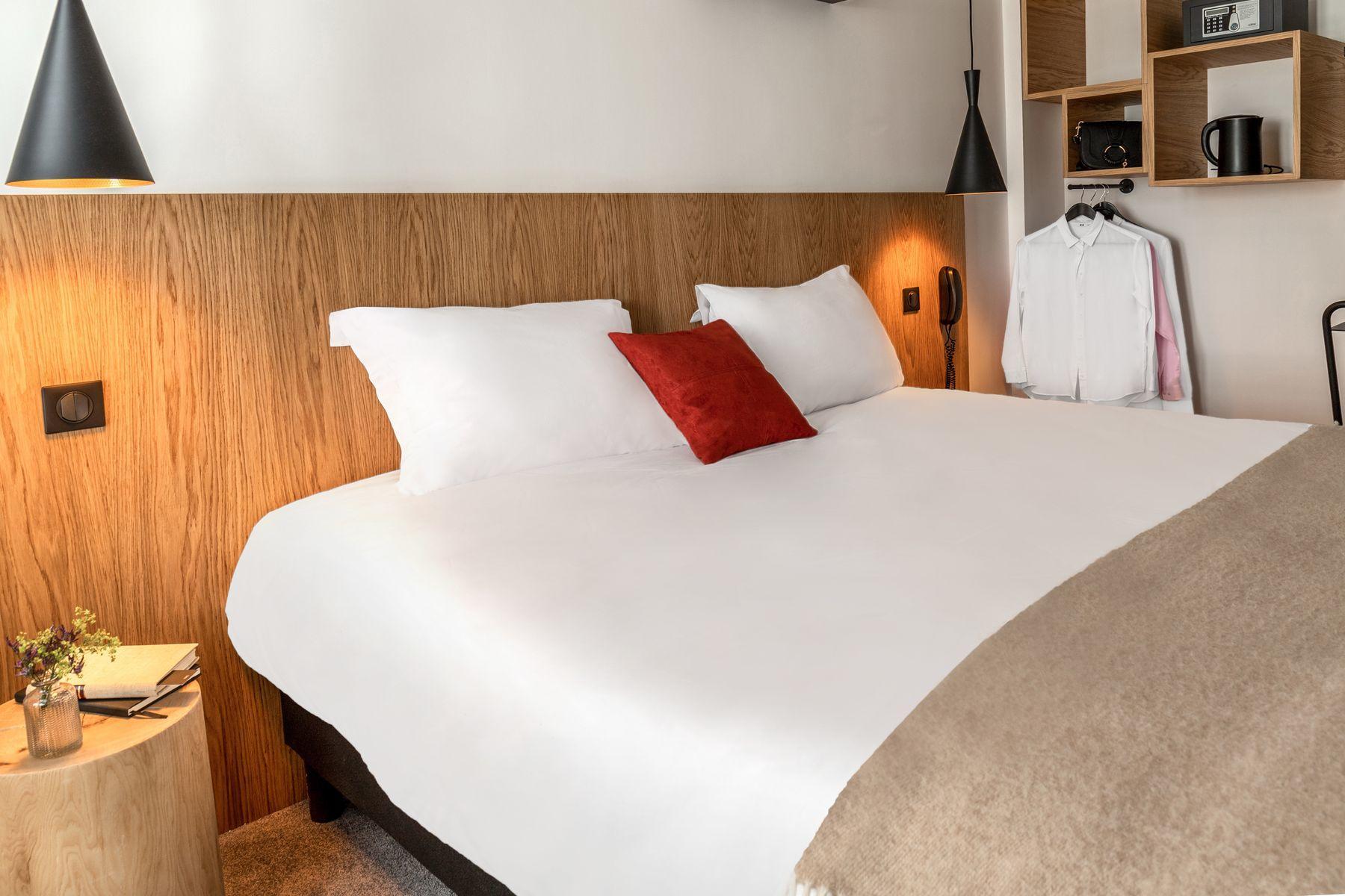 Chambres 9 hotel Bastille-Lyon 3 étoiles Paris 12