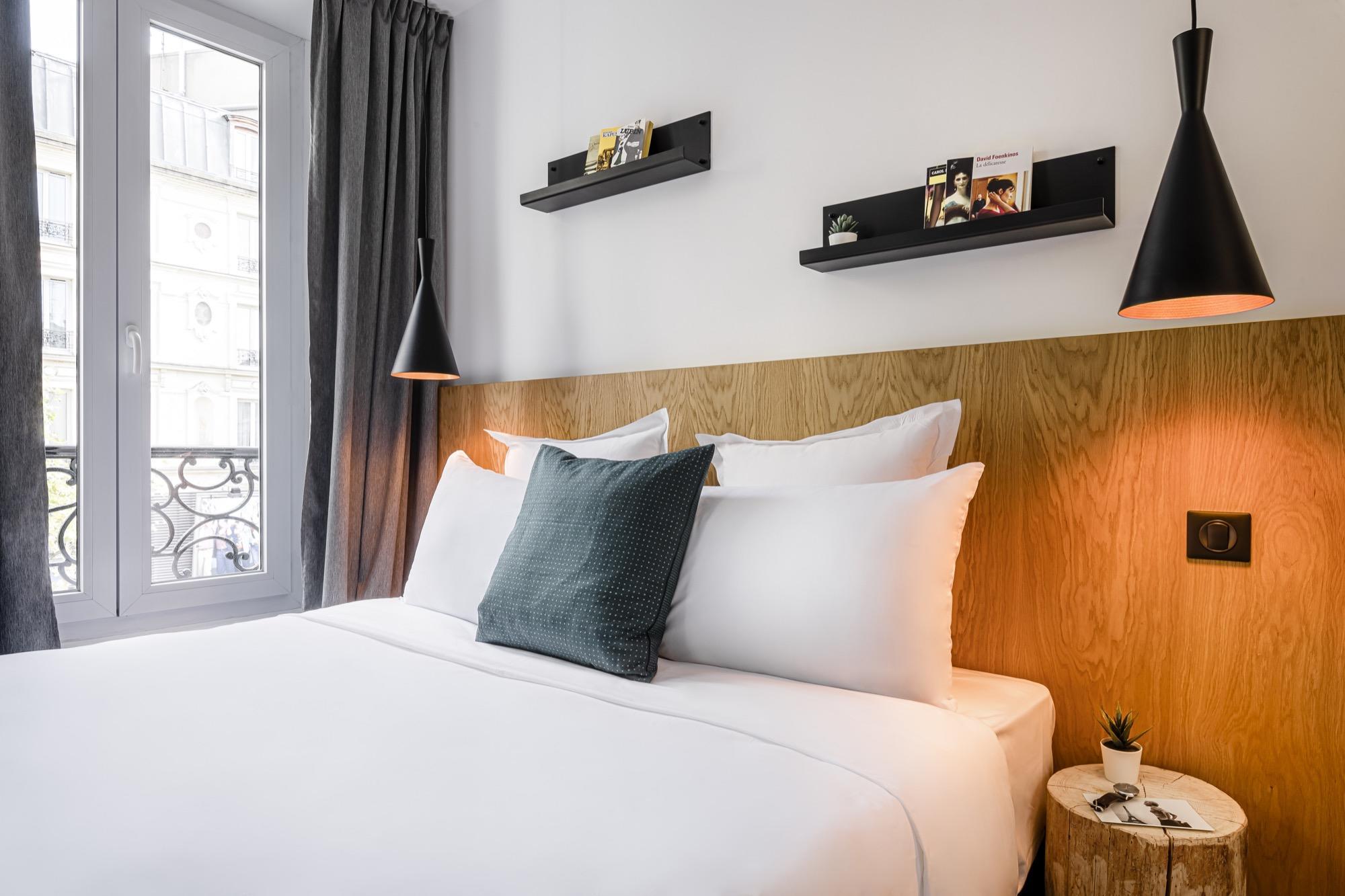Chambre single - 9 hotel Bastille-Lyon 3 étoiles Paris 12