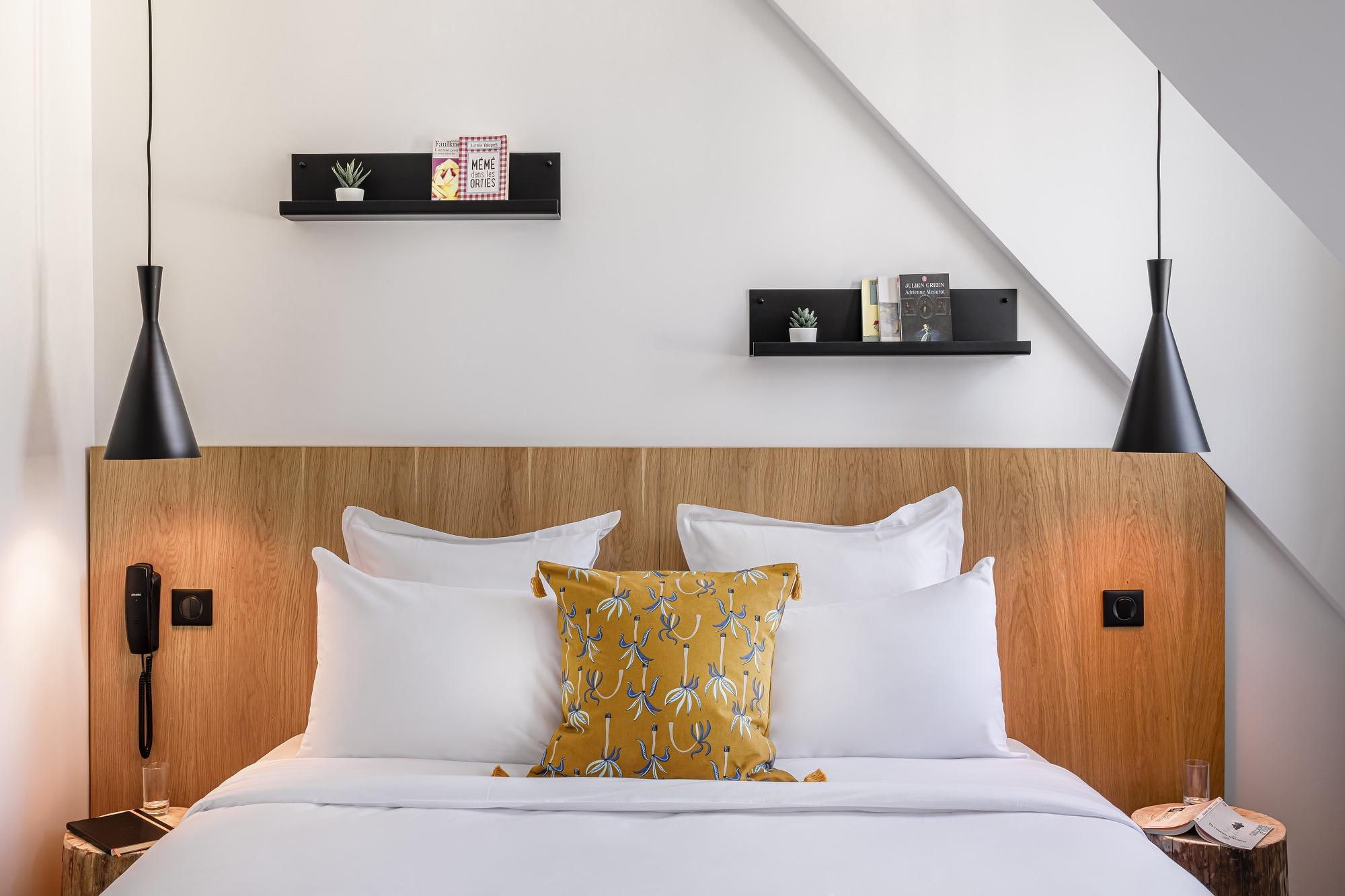Superior room 9 hotel Bastille-Lyon Paris 12
