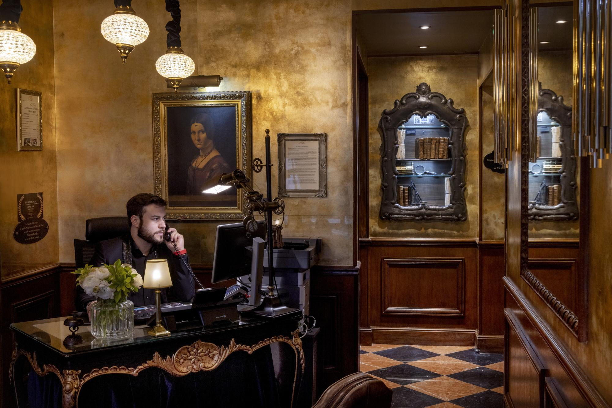 Hotel Da Vinci Reception