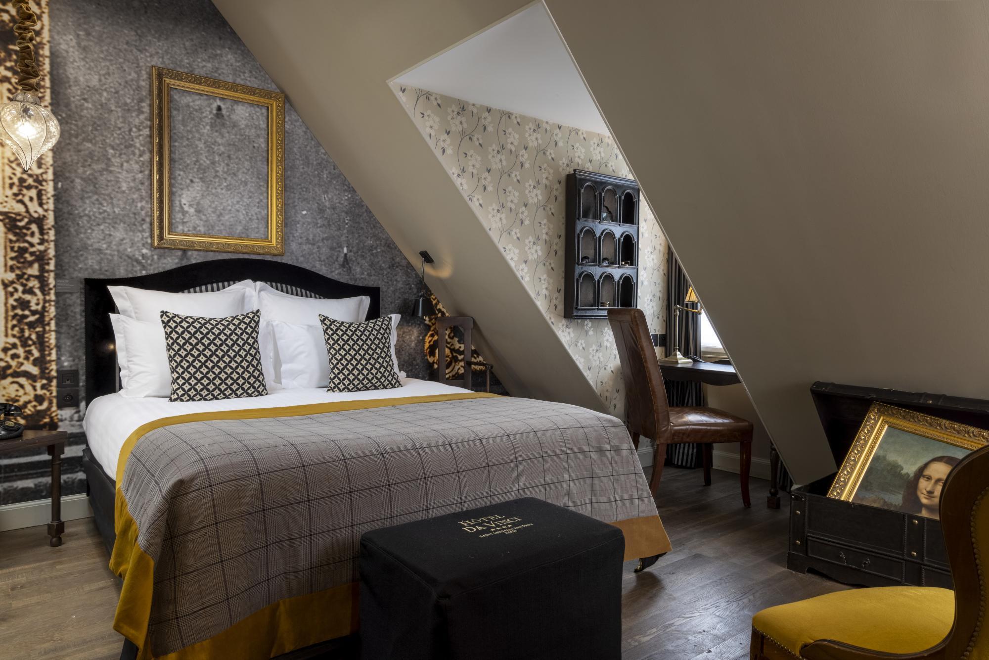 Hotel Da Vinci Adorateur Room