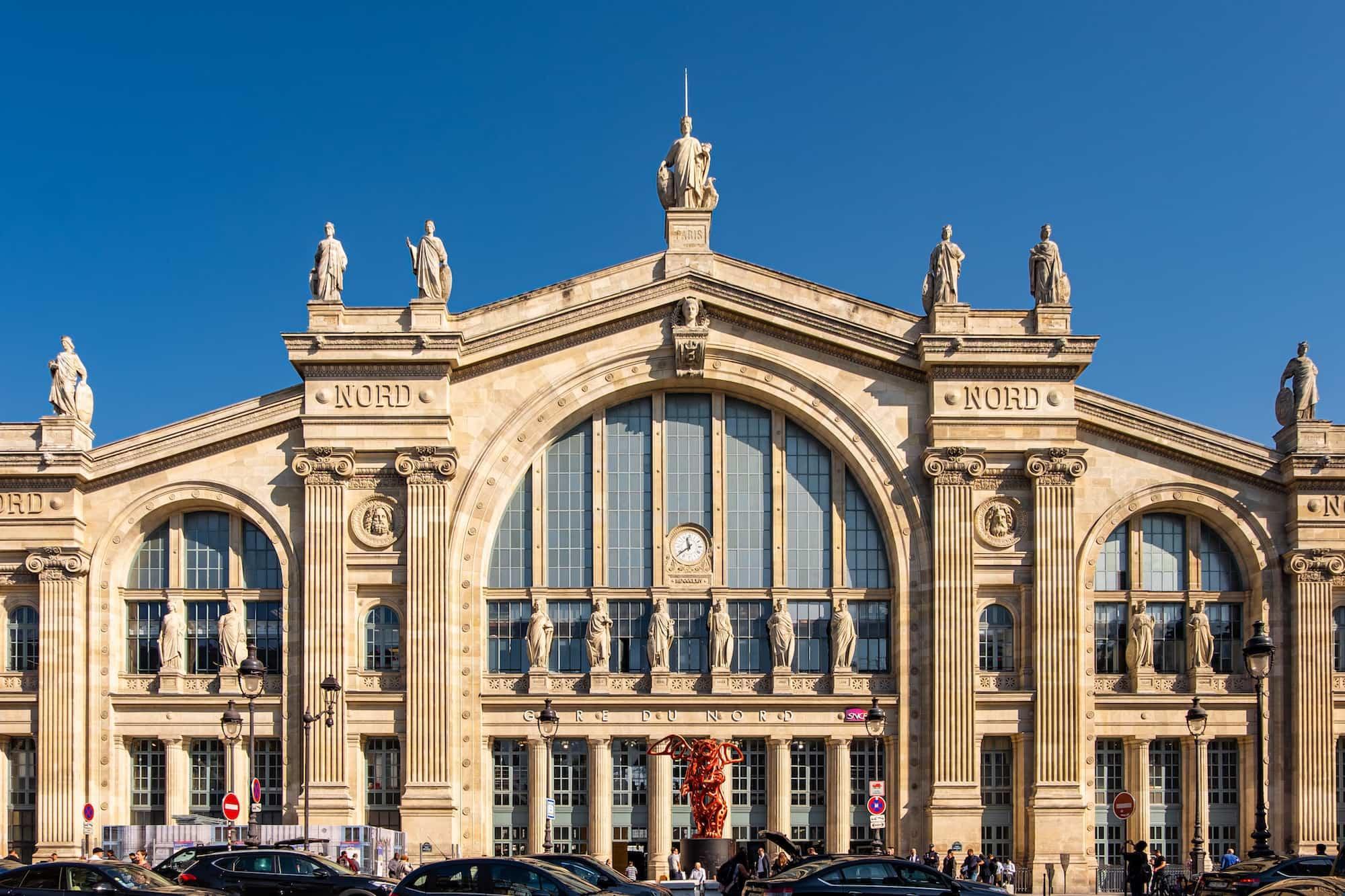 gare du nord près du 9 hotel opera paris