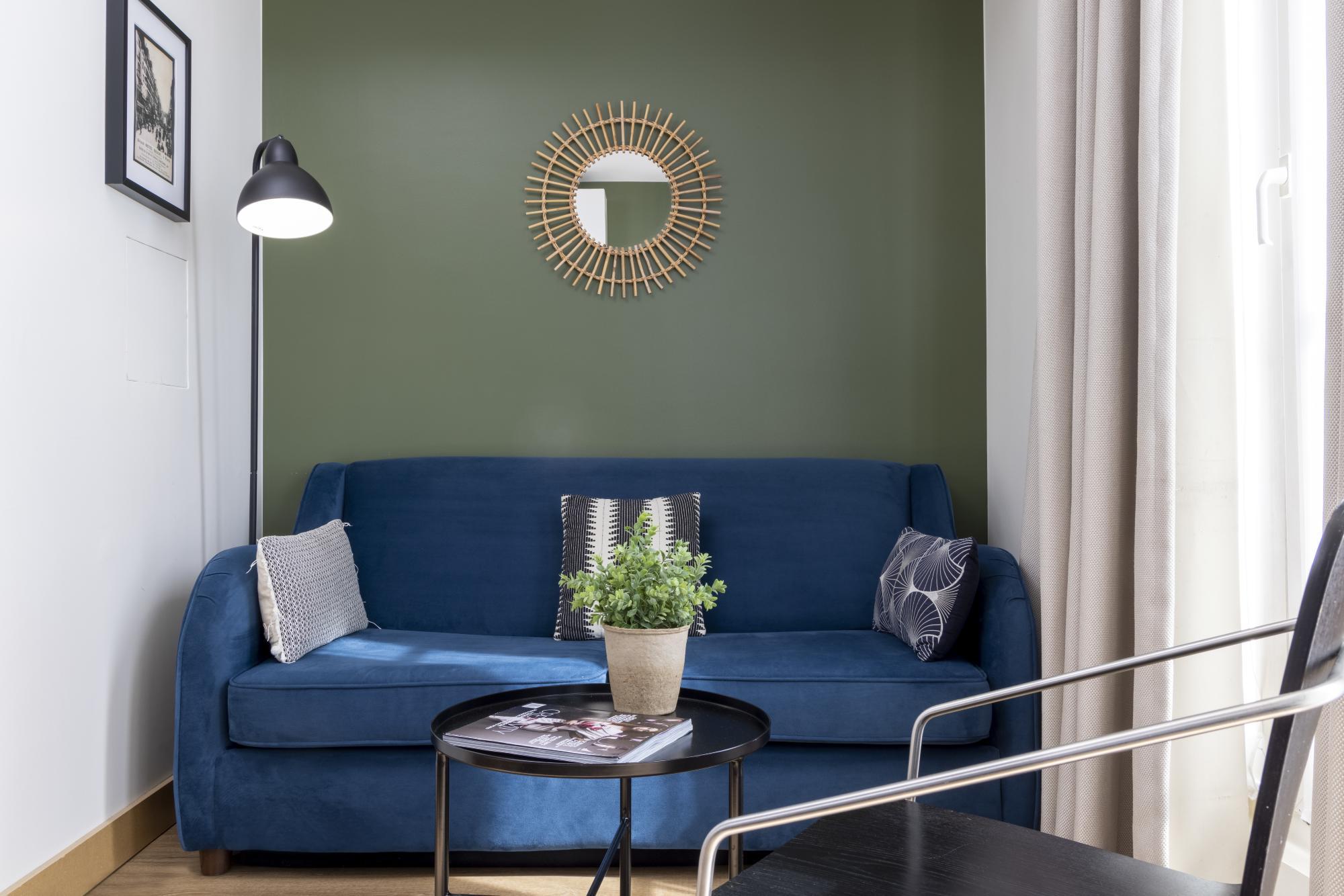 Hotel Brady Room Junior Suite Sofa bed