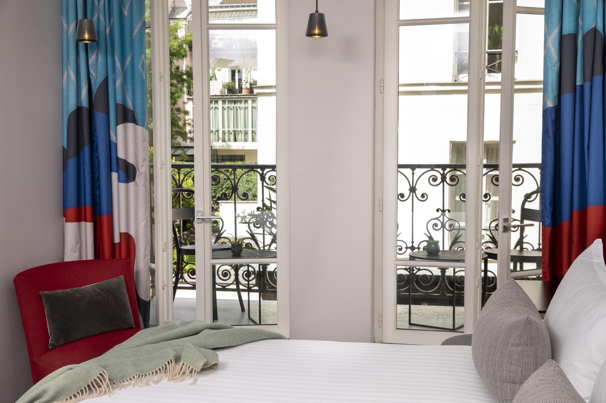 Hôtel Les Matins de Paris Chambre Exécutive Balcon