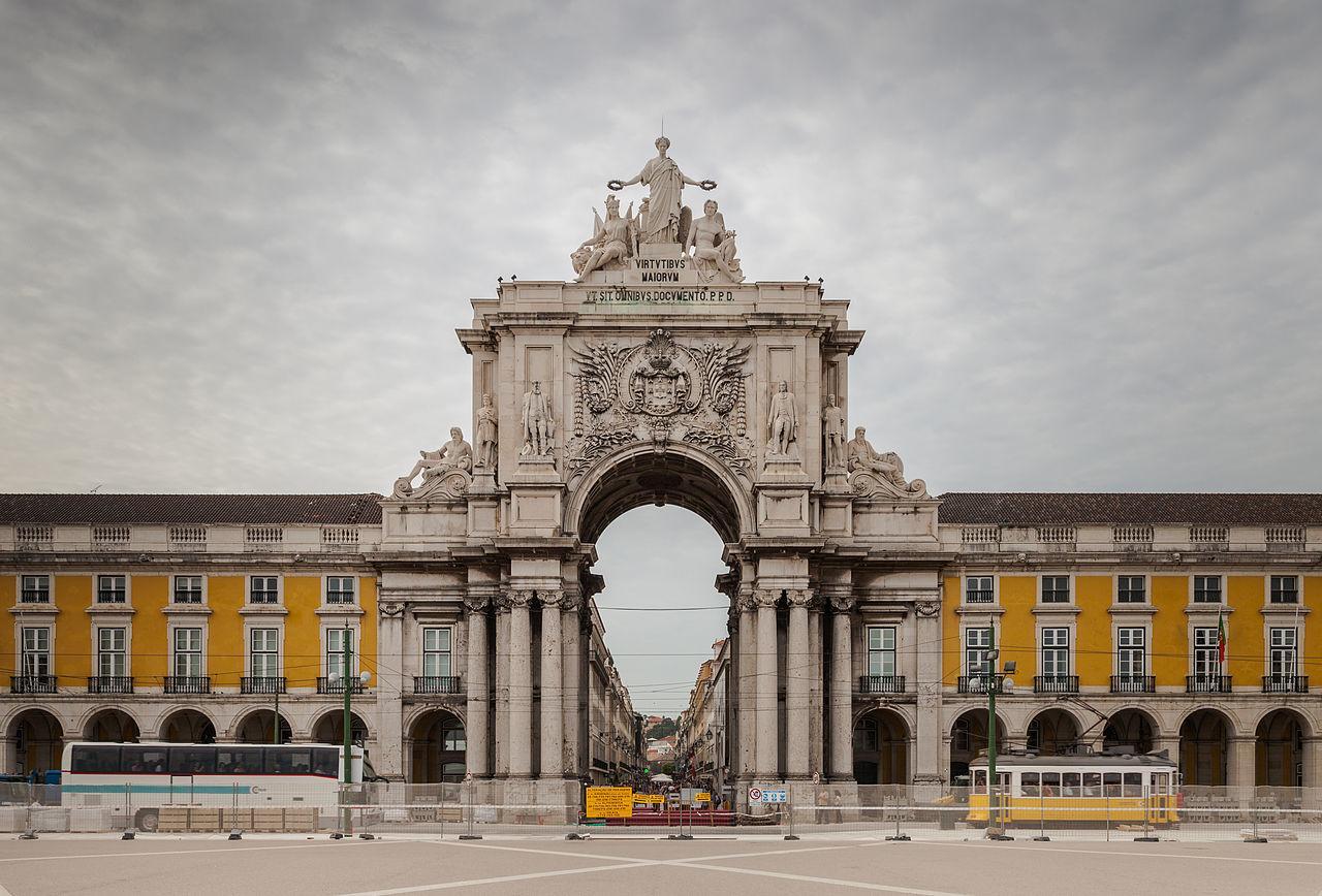 Arco Triunfal da Rua Augusta, Lisboa 9 hotel Mercy