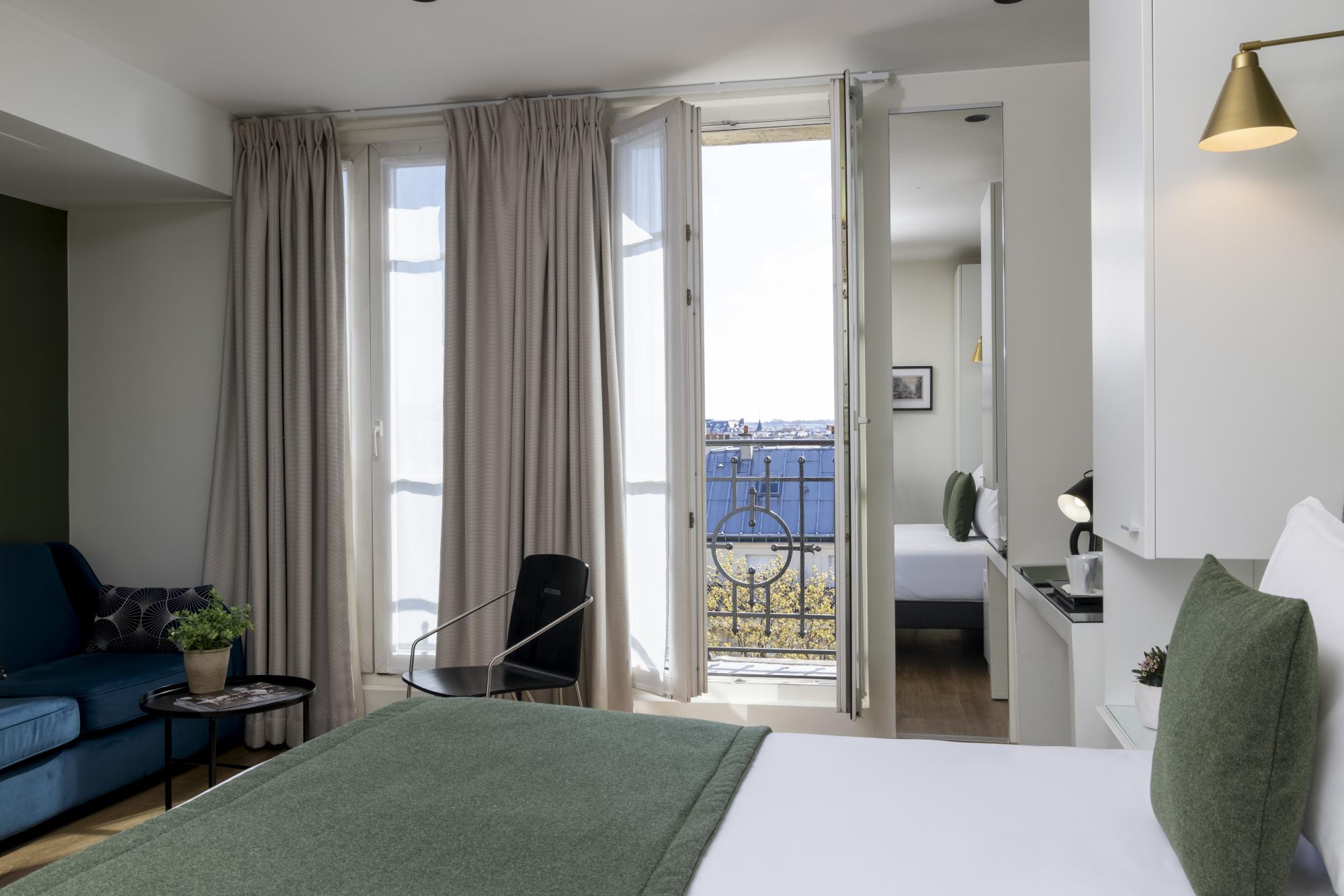 Hotel Brady Room Junior Suite Balcony